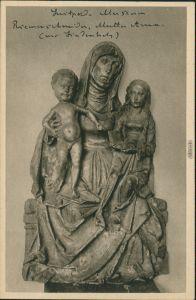 Würzburg Mainfränkisches/Luitpold Museum - Mutter Anna (aus Lindenholz) 1928