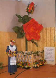 Sebnitz Die größte Seidenrose der Welt - 1. Sebnitzer Blumentage 1997 1997