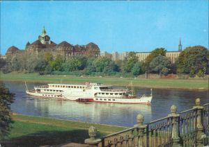 Dresden  Dampfschifffahrt (Weiße Flotte): Motorschiff Typ