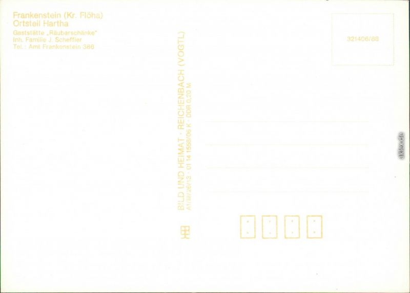 Ansichtskarte Frankenstein Gaststätte \