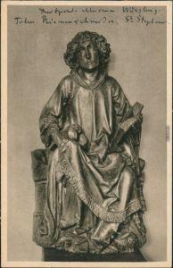 Würzburg Mainfränkisches/Luitpold Museum - Figur St. Stephanus 1928