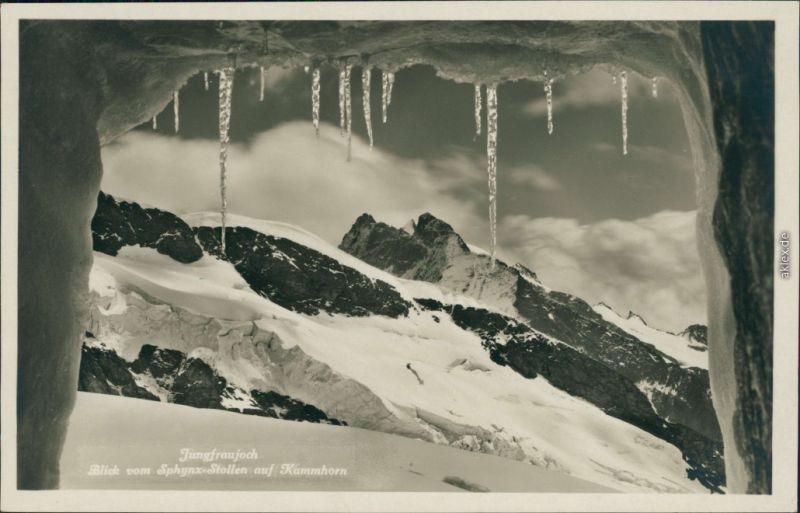 Ansichtskarte Lauterbrunnen Jungfraujoch 1932
