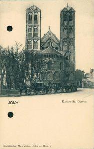 Ansichtskarte Köln St. Gereon Kirche 1900