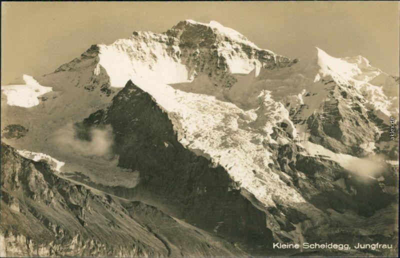 Ansichtskarte Lauterbrunnen Kleine Scheidegg, Jungfraujoch 1930