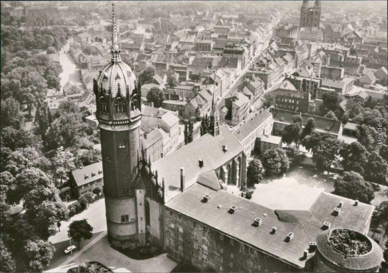Ansichtskarte Lutherstadt Wittenberg Evangelische Schloßkirche 1978