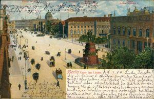 Ansichtskarte Mitte-Berlin Unter den Linden 1904