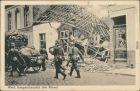 Reims Reims Ansichten Erster Weltkrieg -  Fuhrwerk und Hund daran vorbei 1916