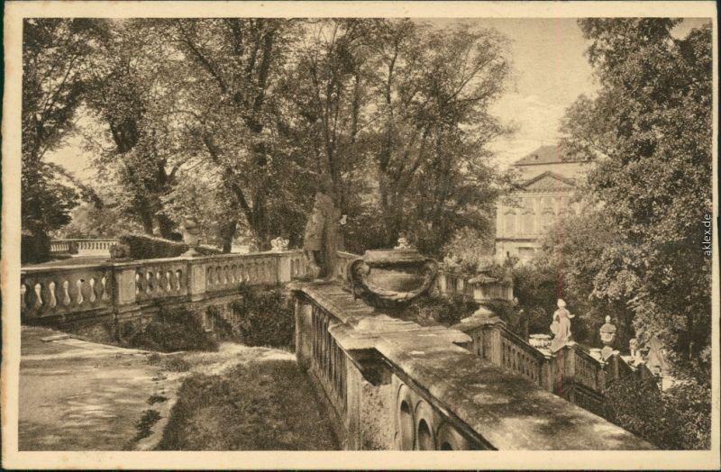 Ansichtskarte Würzburg Kgl. Hofgarten-Terrasse 1929