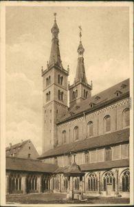 Ansichtskarte Würzburg St. Kiliansdom zu Würzburg mit Kreuzgang 1929