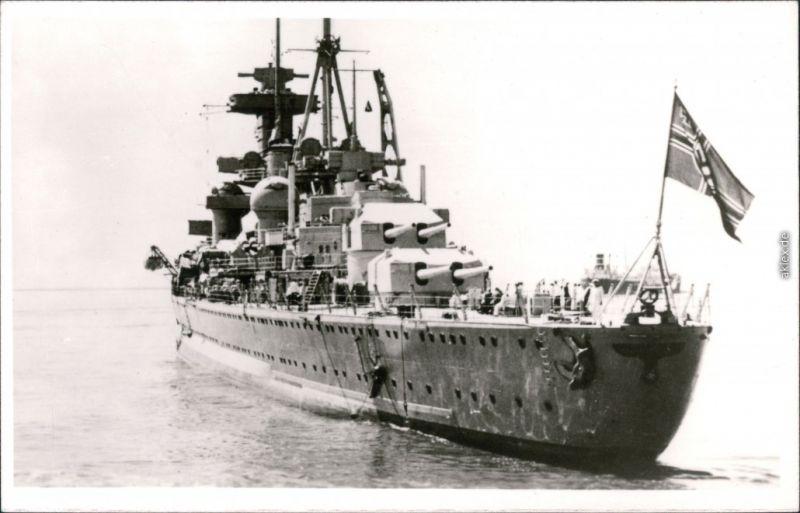 Foto  Kreuzer (Kriegsschiffe) 1938 Privatfoto