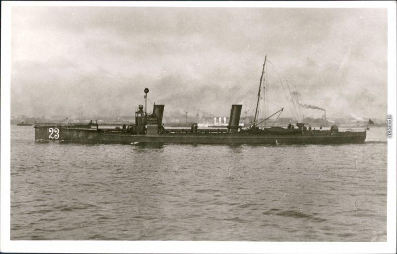 Ansichtskarte  Schiffe/Schifffahrt - Kriegsschiffe (Marine) - S 123 1938