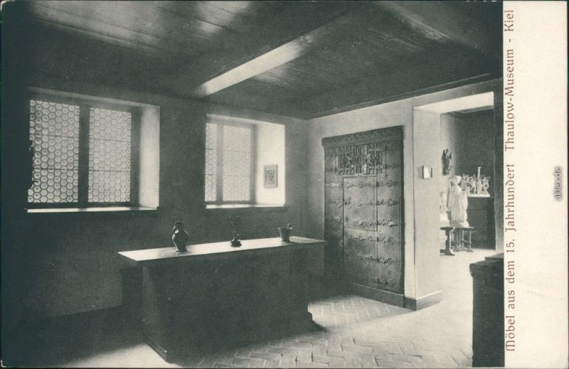 Kiel Möbel ansichtskarte kiel thaulow museum möbel aus dem 15 jh 1912 nr