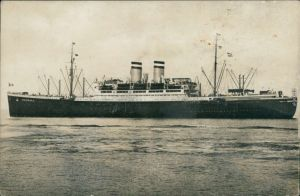 Hamburg-Amerika-Linie (Schiffahrt) - D. Hamburg - 22000 brt. 1932