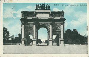 CPA Paris Pariser Triumphbogen / Arc de Triomphe de l'Étoile 1910