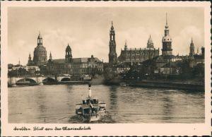 Ansichtskarte Innere Altstadt-Dresden Blick auf die Altstadt 1935
