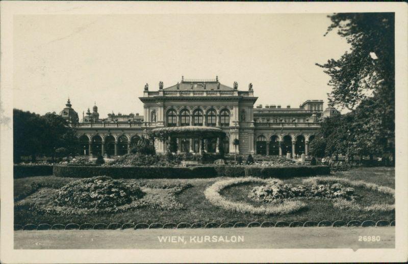 Ansichtskarte Wien Stadtpark - Kursalon 1926