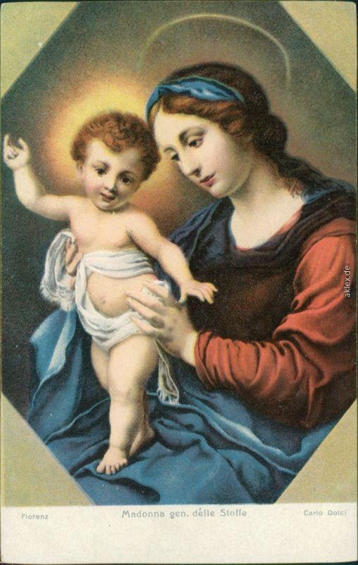 Künstlerkarte: Gemälde v. Carlo Dolci