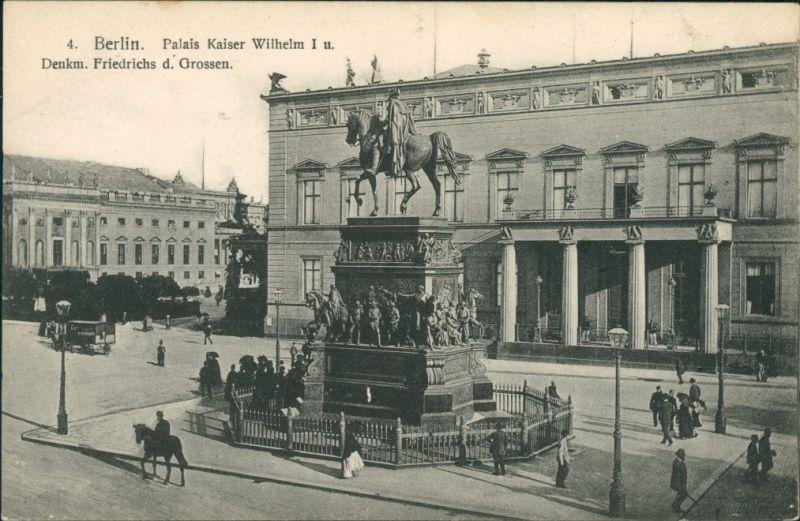 Berlin Altes Palais (Kaiser Wilhelm I. Palast)  Friedrich des Großen 1913