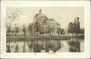 Ansichtskarte Kiel Stadttheater 1910