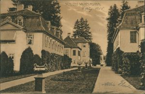 Schloss Wilhelmsthal - Straßenpartie