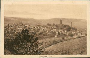 Ansichtskarte Königsee Blick auf den Ort 1919