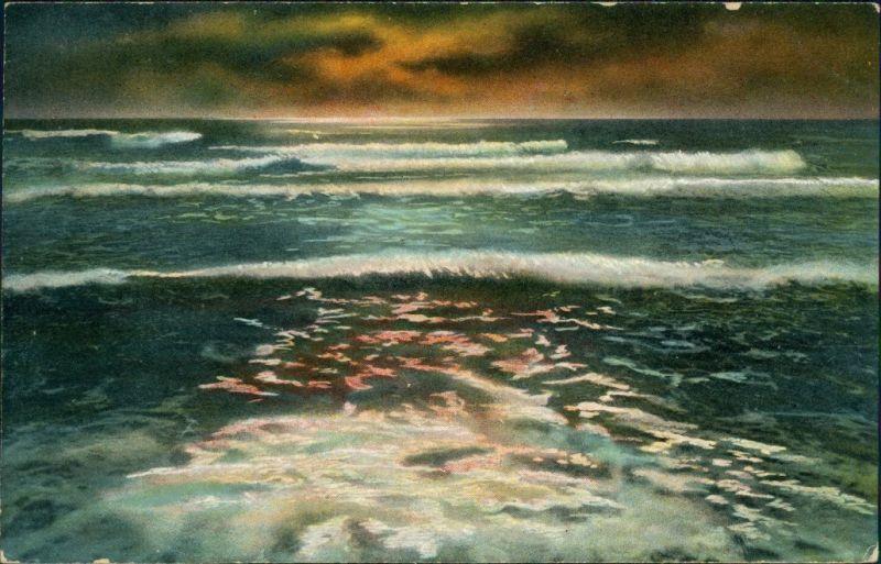 Ansichtskarte  Künstlerkarte: Gemälde