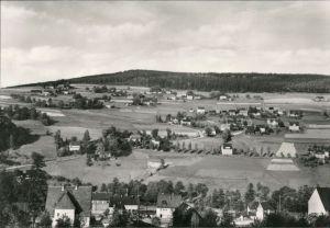 Ansichtskarte Rittersgrün-Breitenbrunn (Erzgebirge) Blick auf den Ort 1973