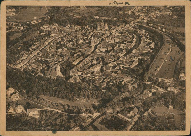 Ansichtskarte Gardelegen Luftbild - Fliegeraufnahme 1930