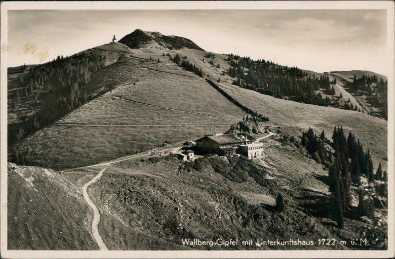 Ansichtskarte Rottach-Egern Unterkunftshaus Wallberg 1932