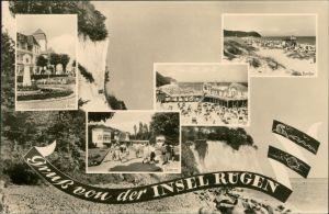 Mecklenburg Vorpommern Insel Rügen Göhren, Sellin, Baabe, Königstuhl 1957