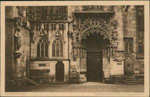 Ansichtskarte Nürnberg Sebalduskirche/St. Sebald - Brauttüre 1927