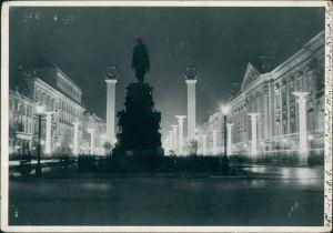 Ansichtskarte Mitte-Berlin Unter den Linden im Festschmuck 1939