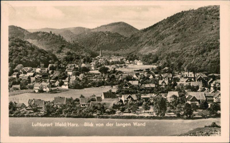 Ansichtskarte Ilfeld-Harztor Blick auf den Ort 1963
