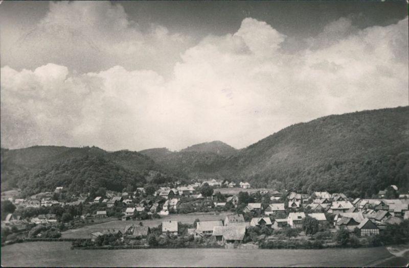 Ansichtskarte Ilfeld-Harztor Blick auf den Ort 1960