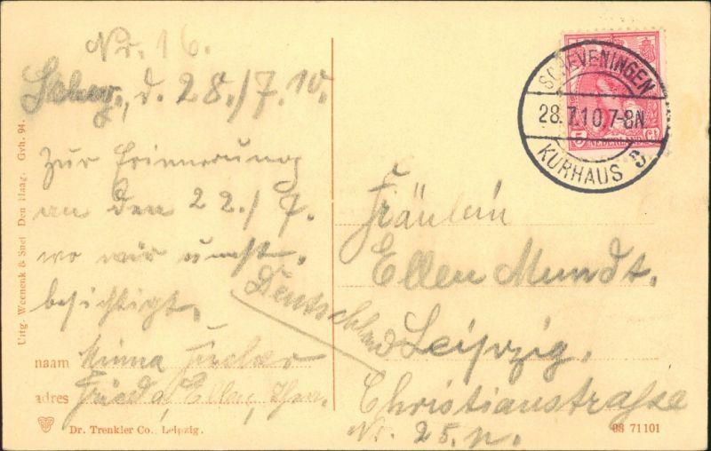 Postkaart Den Haag / \'s-Gravenhage Den Haag Interieur - Ridderzaal ...