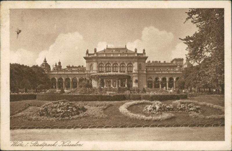 Ansichtskarte Wien Stadtpark - Kursalon g1926