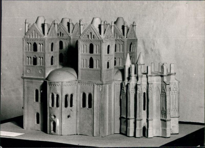 Ansichtskarte Brandenburg an der Havel Modellbau - ehem. Marienkirche 1965