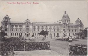 Durban Town Hall, West Street Front