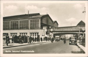 Ansichtskarte Mitte-Berlin Bahnhof Friedrichstraße 1960