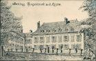 CPA Guignicourt Schloss Guignicourt 1909