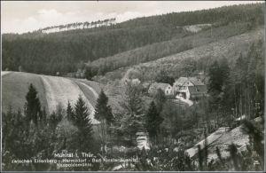 Ansichtskarte Mühltal Blick auf den Ort 1938