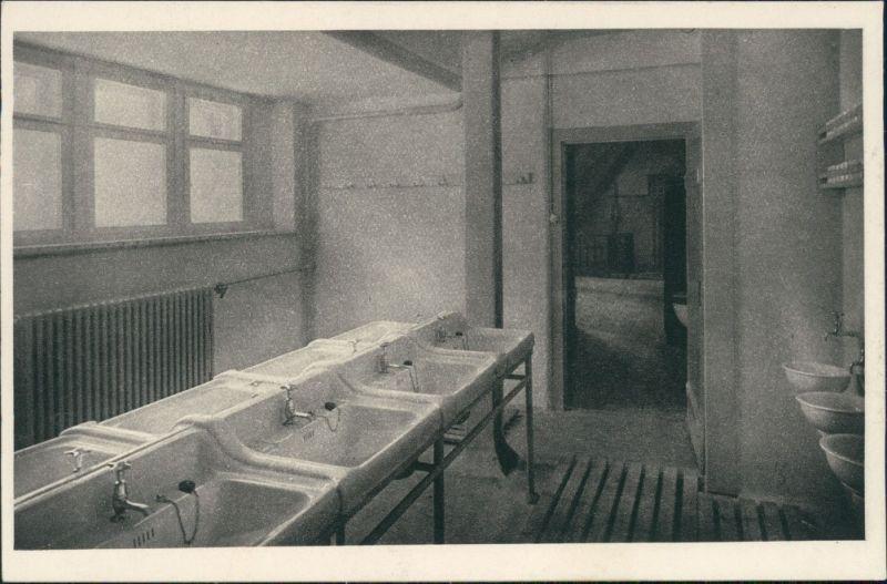 Hellendorf-Bad Gottleuba-Berggießhübel Hammergut Kleppisch - Waschraum 1931