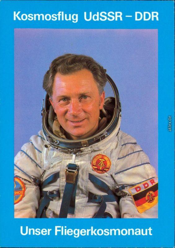 Sigmund Jähn - erster Fliegerkosmonaut der DDR, Kosmosflug UdSSR-DDR 1978