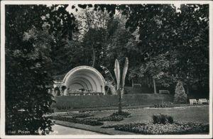 Postcard Bad Polzin Połczyn Zdrój Kurpark mit Konzertplatz 1936