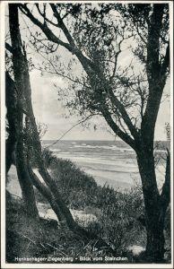 Henkenhagen Ustronie Morskie Ziegenberg - Blick vom Steinchen 1934