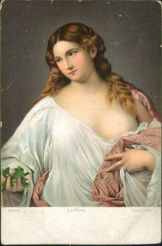 Cartoline Florenz Firenze La Flora - Erotik 1905