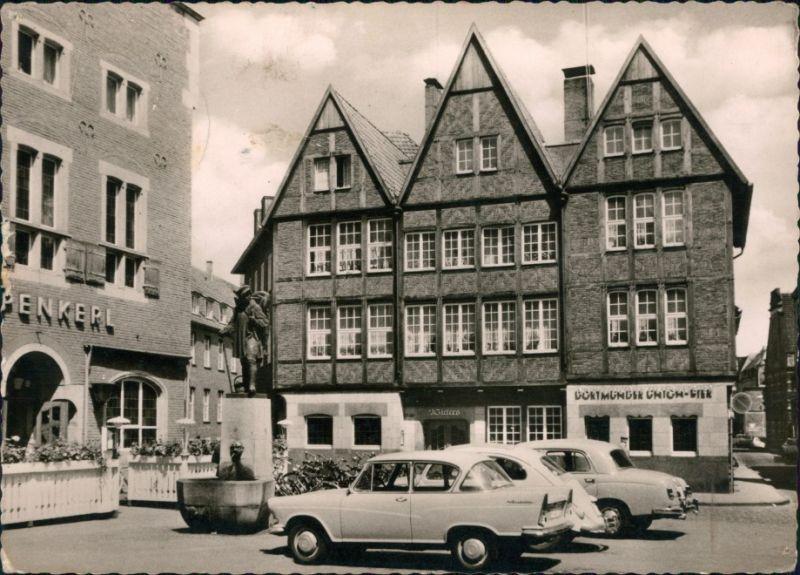 Ansichtskarte Münster (Westfalen) Kiepenkerl - Denkmal 1962