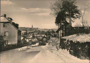 Ansichtskarte Jöhstadt (Erzgebirge) Blick auf den Ort im Winter 1975
