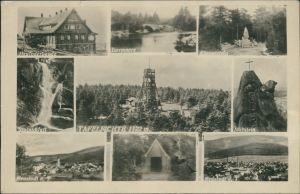 Neustadt Tafelfichte Nové Město pod Smrkem Tafelfichte - Mehrbild Ak 1942