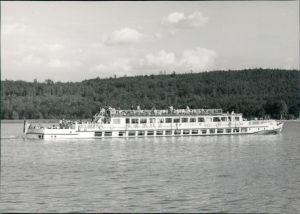 Ansichtskarte  Fahrgastschiff MS Cecilienhof 1972